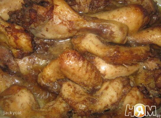 Запеченный цыпленок «Лин»