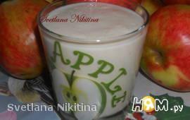 Смузи яблочный на кефире