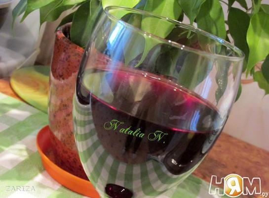Рецепт Вино из черной смородины