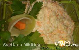Салат из редьки маргеланской