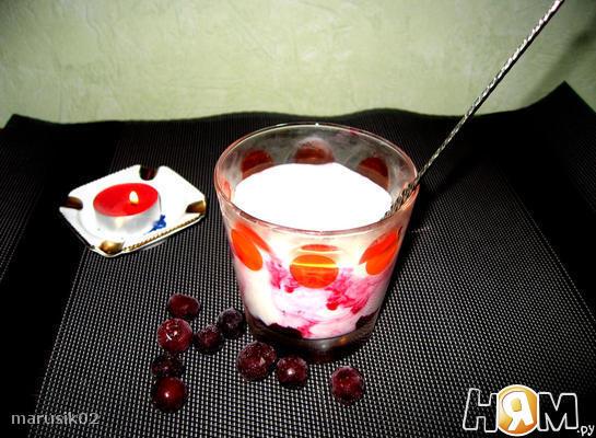 Быстрый десерт с рикоттой