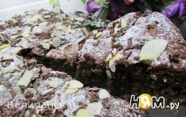 Шоколадный пирог со свёклой