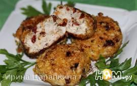 Куриные котлетки с вялеными томатами