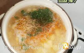 Летний суп с вермишелью