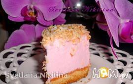 """Пирожное """"Розовые сны"""""""