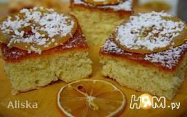 """Лимонный пирог """"Капри"""""""
