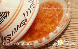 Варенье из тыквы с мандаринами (вариант с имбирем)