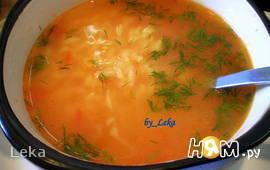 Томатный суп с рисом (турецкая кухня)