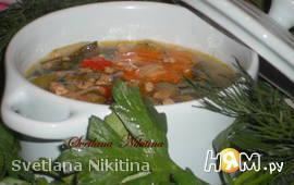Суп  мясной  по - чешски