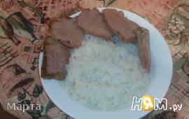 Мясо в пароварке в фольге