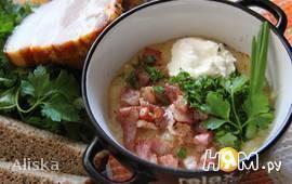 Зимний картофельный суп-толченка
