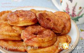 Яблочные пончики