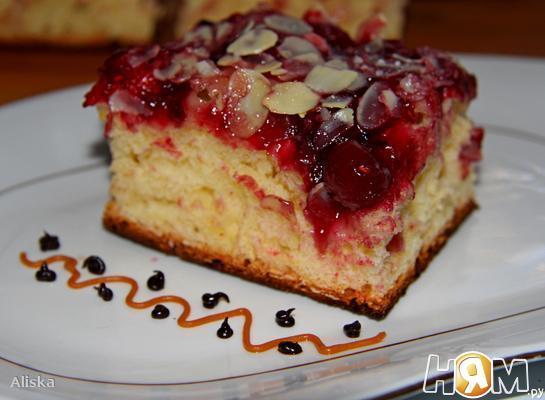 """Масляный пирог """"Rote Grutze"""""""