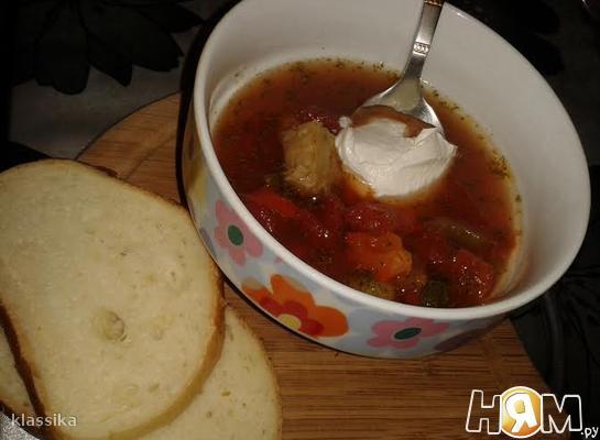 Суп «Венгерский»