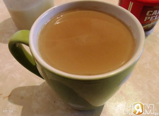 Рецепт Кофе со сгущенным молоком