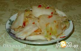 Пекинская капуста по-корейски (Чимчи)