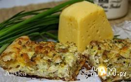 Греческий деревенский пирог с курицей