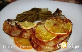 Апельсиновый стейк на косточке
