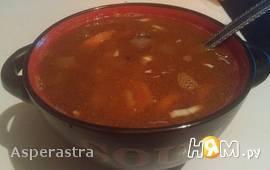 Густой чечевично-нутовый суп