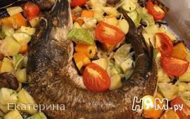 """Щука с овощами """"Осенняя"""""""