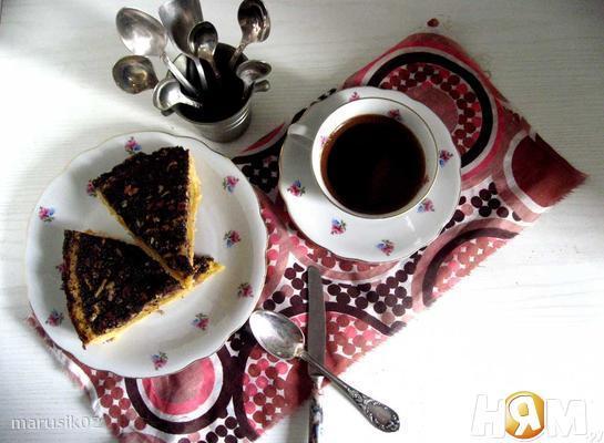 Американский пирог с пеканом и кленовым сиропом