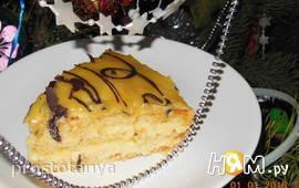 Шифоновый бисквит со сливочно-лимонным кремом