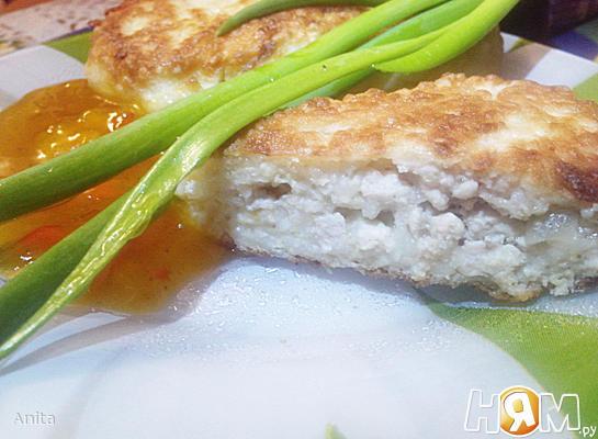 Рецепт Жареные пирожки из пшенной каши с фаршем