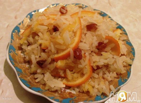 Рецепт Рассыпчатая рисовая каша