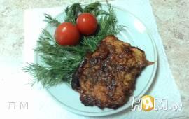 Горбуша под томатной шубкой в духовке