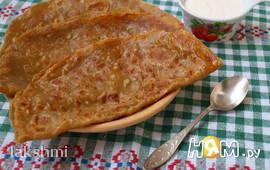 Голландские блинчики с сыром