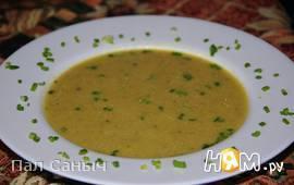 Суп-пюре из морской рыбы