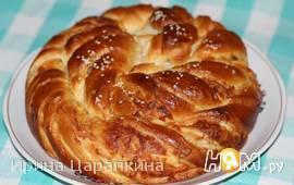 Каравай с сыром по мотивам турецких булочек