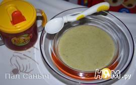 Детский куриный суп-пюре для 10 месяцев