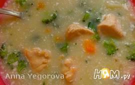 Суп из куриной грудки и брокколи