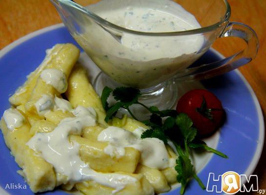 Рецепт Творожно-картофельные пальчики