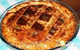 Итальянский картофельный пирог
