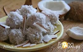 Сладкие кокосовые шарики