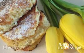 Сырники яблочно-кукурузно-овсяные