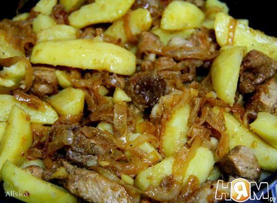 Оджахури или свинина по-домашнему