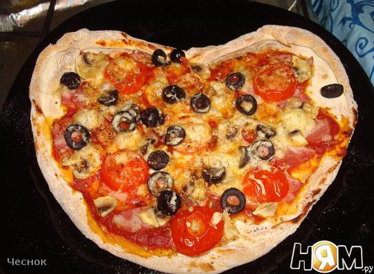 """Пицца """"Сердечко"""""""
