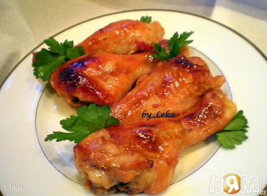 Куриные голени по - тайски