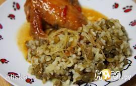 Гарнир из чечевицы с рисом