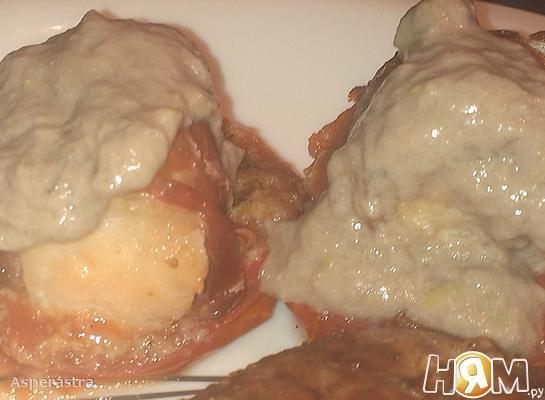 Рецепт Закуска из морского черта