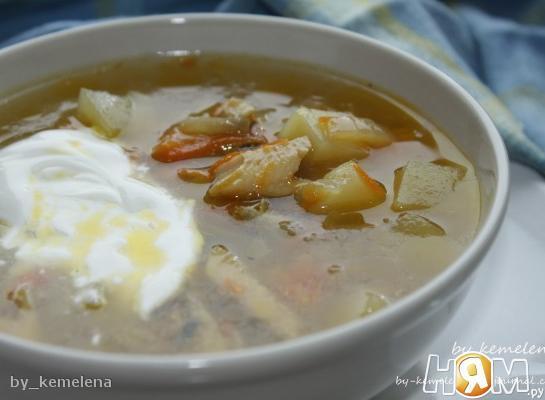 Холодный рыбный суп