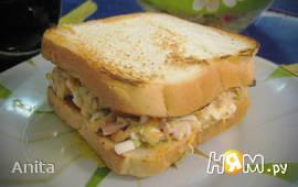 Сэндвич с тунцовым салатом