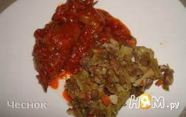 Цесарка в томатном соусе