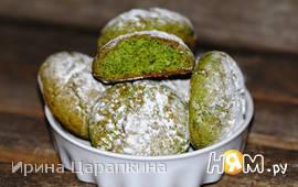Печенье из крапивы с цитрусовым ароматом