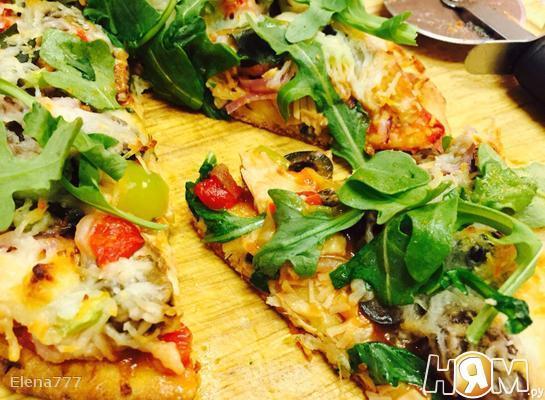 Рецепт Пицца наан