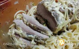 Запеченная свинина с горчицей и хреном