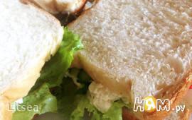 Сэндвичи с овощами и мягким сыром